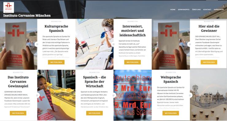 Bild Foto Blog kampagne Instituto Cervantes